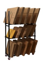 Carton Storage Rack