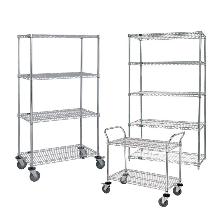 WIre Carts & Shelving - Dehnco