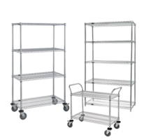 Wire Carts & Shelving
