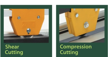 Shear versus Compression Cutting Systems