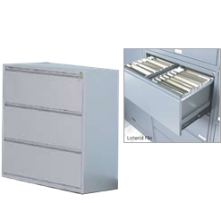 Lateral File Cabinets - Metal