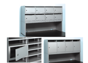 Lockboxes For Mail Sorter
