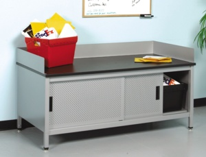 Mailroom Sorting Bench- Dump Table