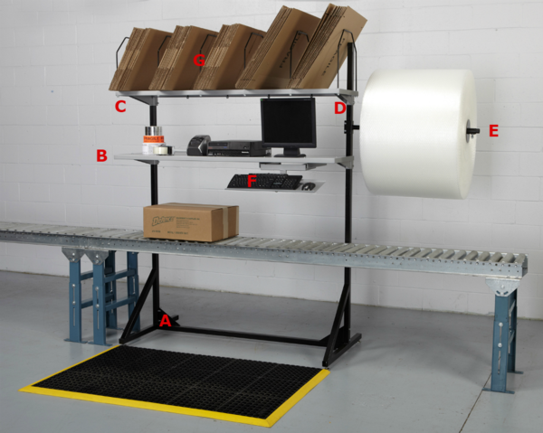 Storage Stand - Over Conveyor