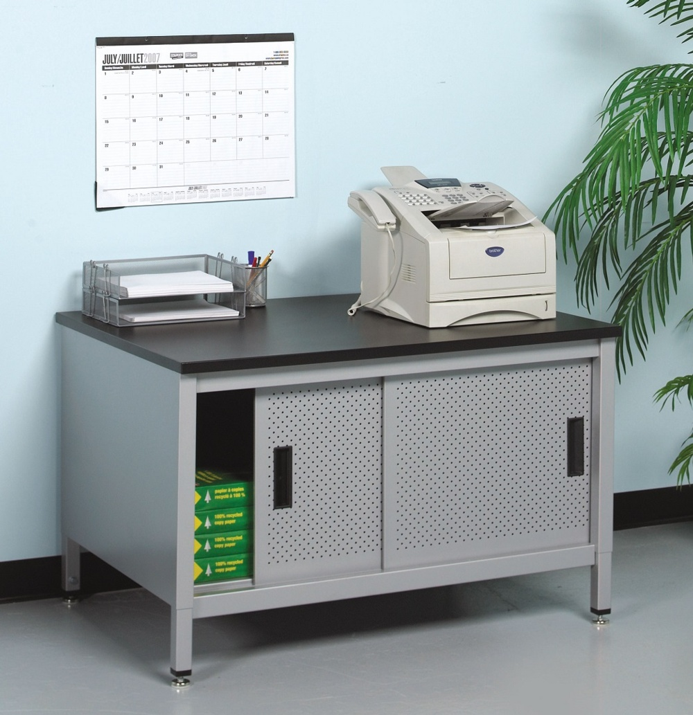mailroom station for fax and copy machines dehnco