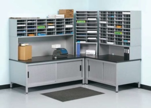 Mailroom Design - L-Shaped Configurations