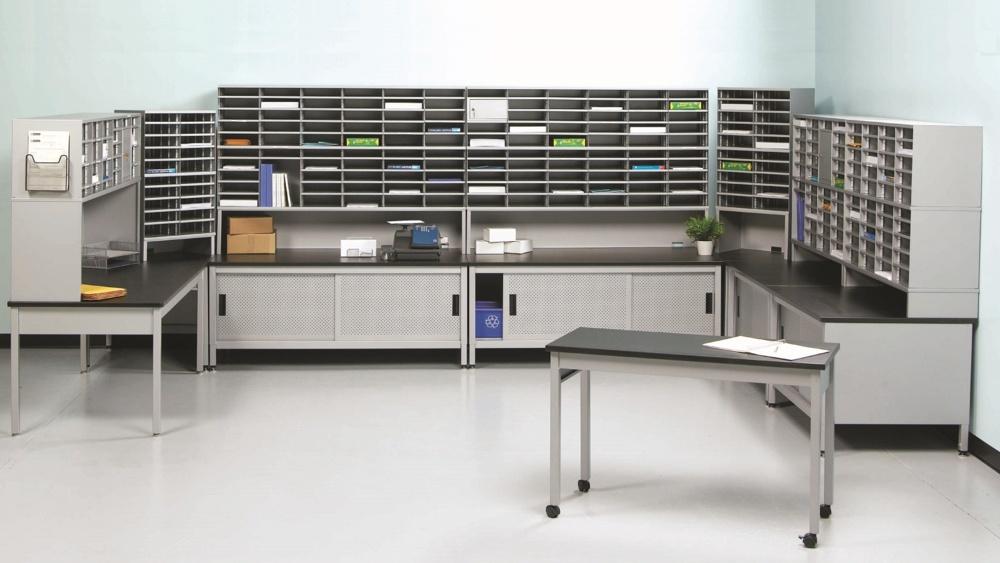 Mailroom Layout U Shaped Configurations Dehnco