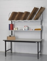 Mailroom Workstation for UPS Packing and Shipping