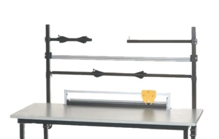 Overhead Workstation Roll Storage Components