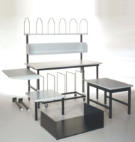 Worktable Modules - Lower Storage Shelves