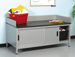 Mailroom Sorting Bench - Dump Table