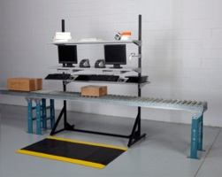 OC-1505 UPS Manifest Stand - Over Conveyor