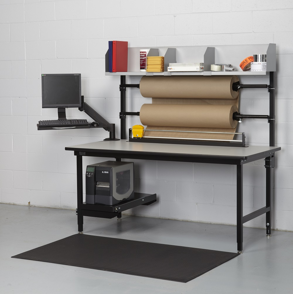 Dehnco Packing Tables with Cutter